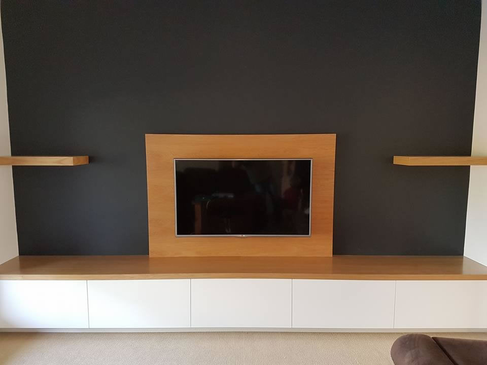 Wall Tv Unit Immaculate Kitchens