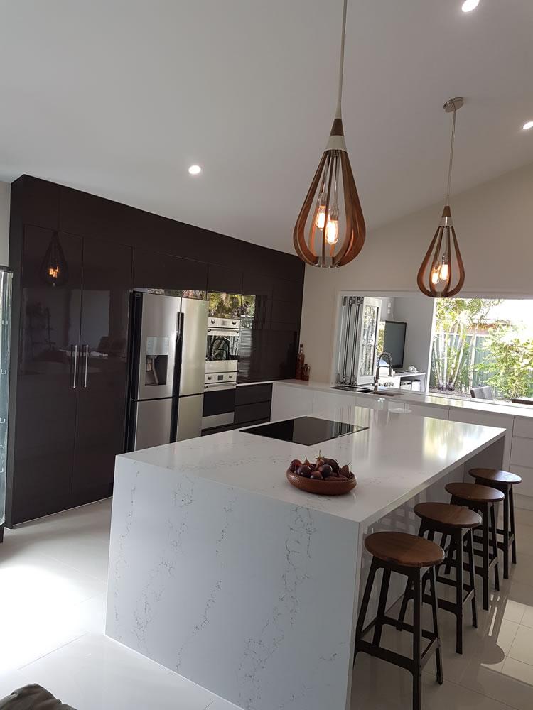 Stunning Chocolate Kitchen