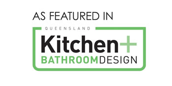 as featured in QLD Kitchen and Bathroom Design Magazine