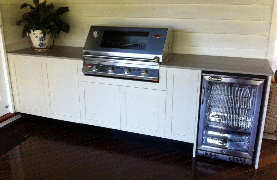 BBQ outdoor entertainment area units gold coast