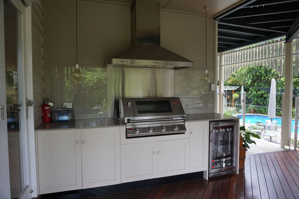 Outdoor BBQ Unit