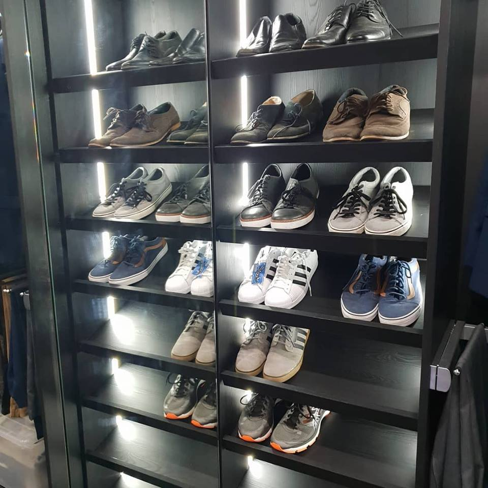 custom wardobe shoe racks gold coast brisbane